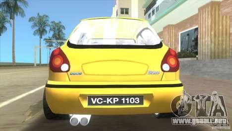 Fiat Bravo para GTA Vice City vista lateral izquierdo