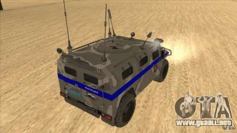 GAS-23034 SPM-1 tigre para la visión correcta GTA San Andreas