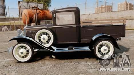 Ford Model T Truck 1927 para GTA 4 left