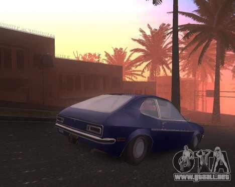 Ford Pinto 1973 Final para GTA San Andreas left