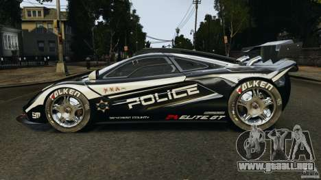McLaren F1 ELITE Police para GTA 4 left