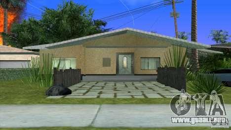 Nuevas texturas casa en Los Santos Denis para GTA San Andreas segunda pantalla