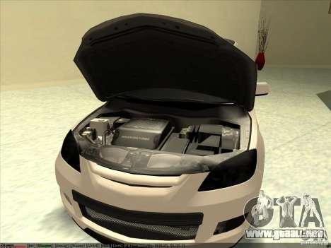 Mazda Speed 3 Stance v.2 para GTA San Andreas vista posterior izquierda