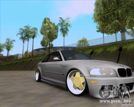 BMW 3-er E46 Dope para la visión correcta GTA San Andreas