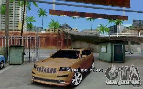 Parking (de pago) para GTA San Andreas
