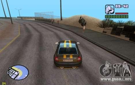 ENBSeries By VadimSpiridonov v.0.2 para GTA San Andreas tercera pantalla