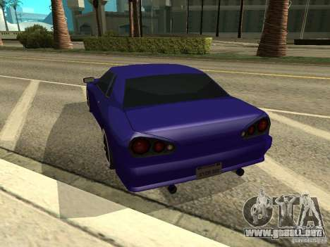 Elegy by W1nston4iK para GTA San Andreas left