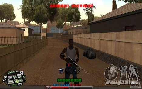 Cleo HUD by Cameron Rosewood V1.0 para GTA San Andreas segunda pantalla