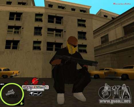 Weapon Pack by Alberto para GTA San Andreas sucesivamente de pantalla