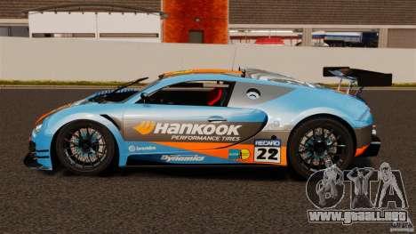 Bugatti Veyron 16.4 Body Kit Final para GTA 4 left