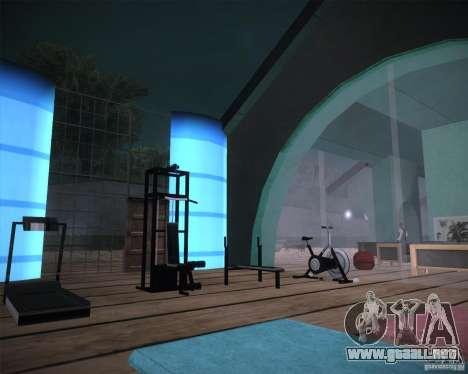 Beach House para GTA San Andreas sucesivamente de pantalla