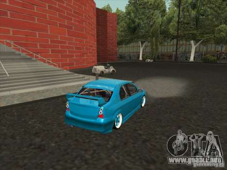 Renault Logan para GTA San Andreas left