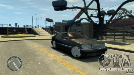Mercedes-Benz S600 para GTA 4 left