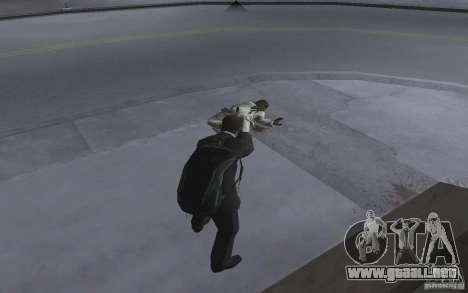 Animar el cuerpo del GTA IV para GTA San Andreas sucesivamente de pantalla