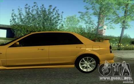 Mazda Speed Familia 2001 V1.0 para GTA San Andreas left