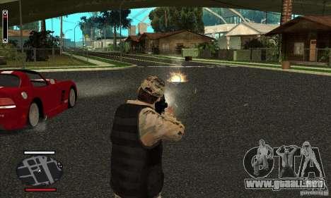 HUD for SAMP para GTA San Andreas tercera pantalla