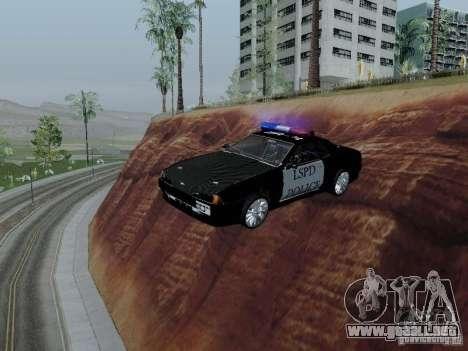Elegy Police LS para visión interna GTA San Andreas