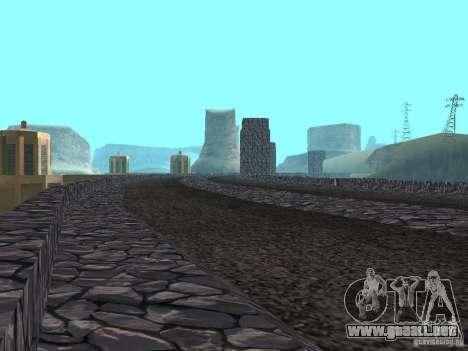 La nueva presa para GTA San Andreas segunda pantalla