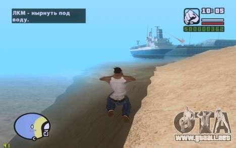 ENBSeries By VadimSpiridonov v.0.2 para GTA San Andreas sexta pantalla