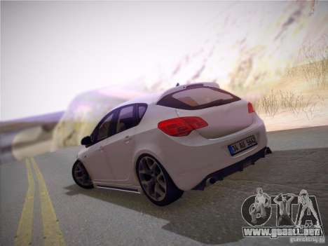Opel Astra Senner Lower Project para vista lateral GTA San Andreas