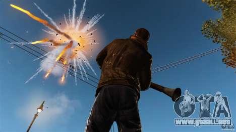 El daño real de armas para GTA 4 tercera pantalla