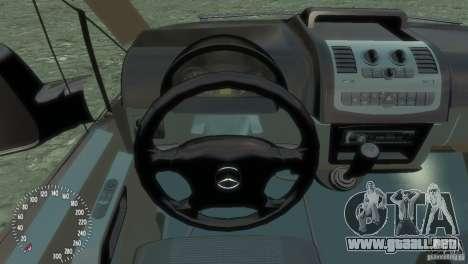 Mercedes-Benz Vito 2013 para GTA 4 vista interior