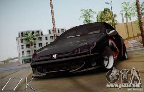 Peugeot 206 Shark Edition para GTA San Andreas