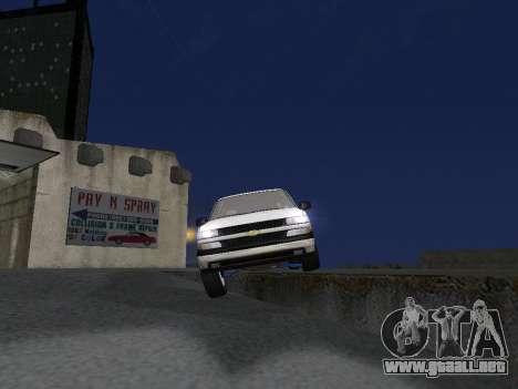 Chevorlet Silverado 2000 para el motor de GTA San Andreas