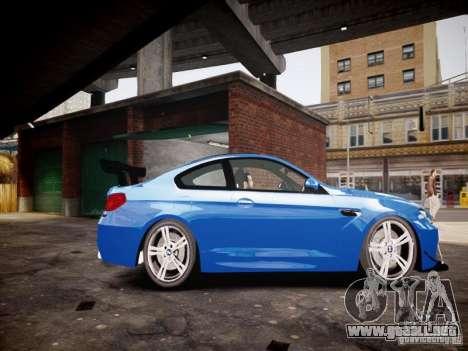 BMW M6 2013 para GTA 4 left