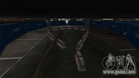 Deriva-pista en el aeropuerto para GTA 4 sexto de pantalla