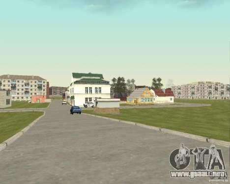Nuevo campo del distrito de sueños para GTA San Andreas quinta pantalla