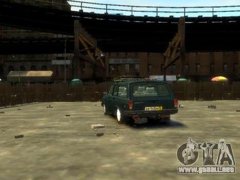 Carro 310221 del GAS para GTA 4 Vista posterior izquierda