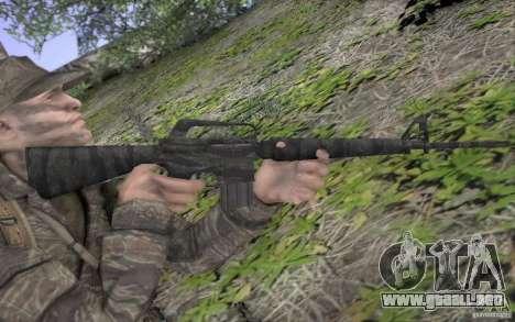 M16A1 Vietnam war para GTA San Andreas quinta pantalla