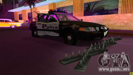 HP Stinger 2.0 para GTA Vice City quinta pantalla