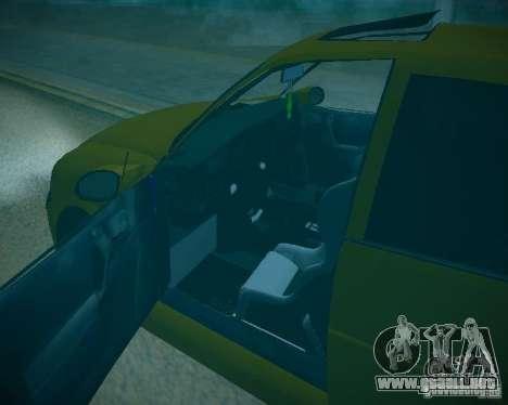Opel Vectra B para la vista superior GTA San Andreas