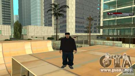 Trialist HD para GTA San Andreas quinta pantalla