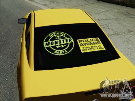 Ford Mustang GT Lowlife para GTA San Andreas left