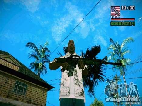 New Weapon Pack para GTA San Andreas quinta pantalla