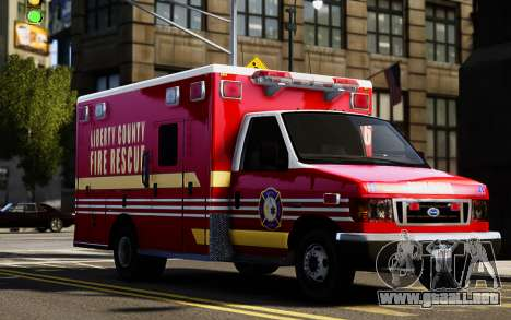 Ford Econoline E350 Ambulance para GTA 4