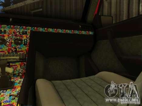 Mercedes-Benz E Class W124 para la visión correcta GTA San Andreas