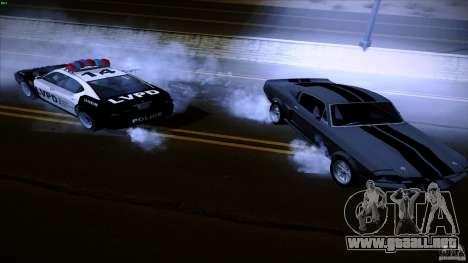 Policía dispara fuera de máquina para GTA San Andreas