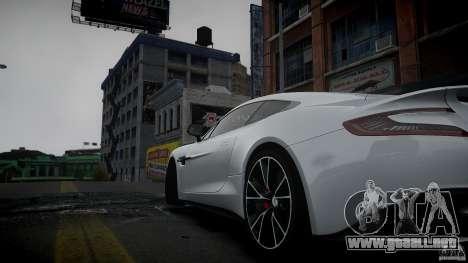 Aston Martin Vanquish 2013 para GTA 4 left