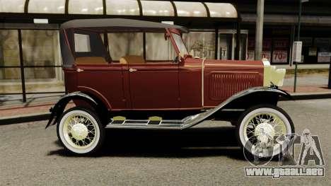 Ford Model T 1926 para GTA 4 left