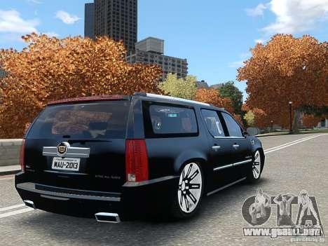 Cadillac Escalade ESV 2012 DUB para GTA 4 left