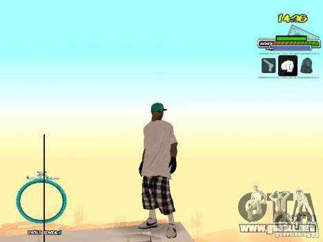 Pieles El Coronos para GTA San Andreas segunda pantalla