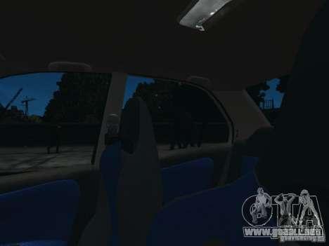 Mitsubishi Lancer Evo VI GSR para GTA 4 vista interior