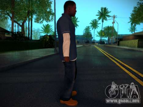 Franklin para GTA San Andreas segunda pantalla