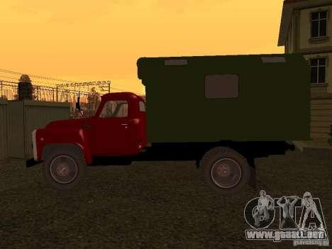 GAZ 52 para GTA San Andreas vista posterior izquierda
