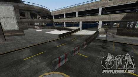Deriva-pista en el aeropuerto para GTA 4 tercera pantalla