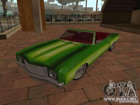 1970 Chevrolet Monte Carlo para GTA San Andreas vista hacia atrás